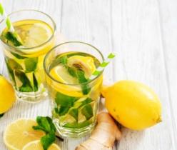 IJsthee met gember en citroen