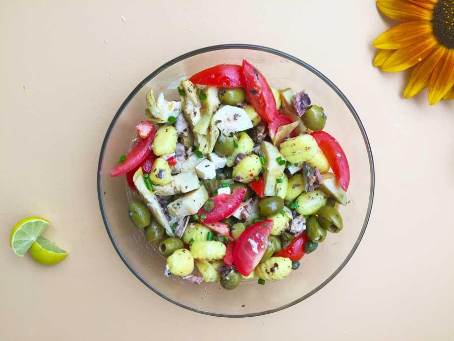 Zlim afvallen inspiratie recept Griekse gnocchi