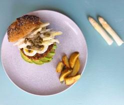 Zlim afvallen inspiratie recept vegetarische burgers