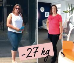Annelies Aardoom, 46 jaar - 27 kg en 176 cm afgevallen met Zlim