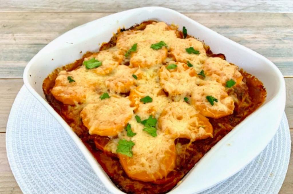 Lasagne met zoete aardappel - Zlim