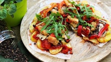 Aardappelpizza recept