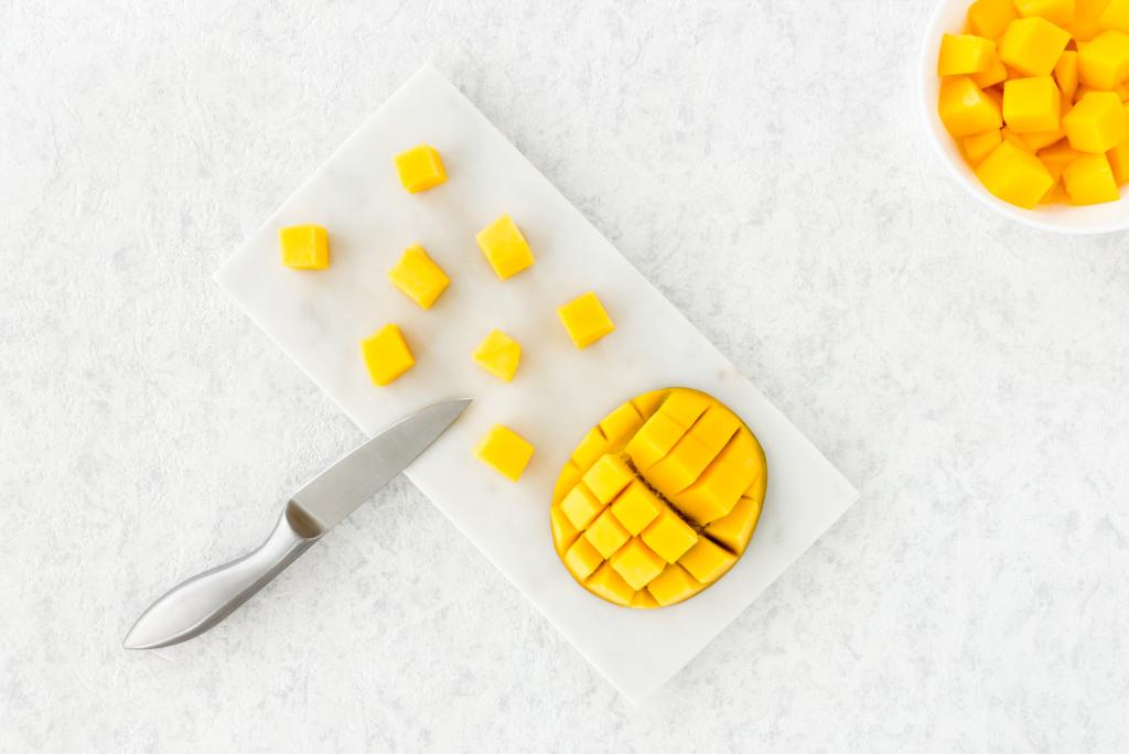 Zlim recept voor mango aardbeien soep