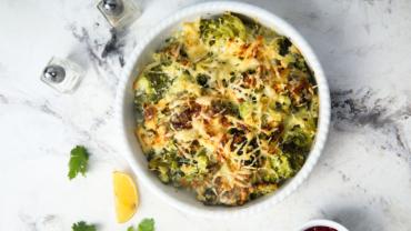 Recept gegratineerde broccoli