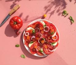 Zlim tomatensalade